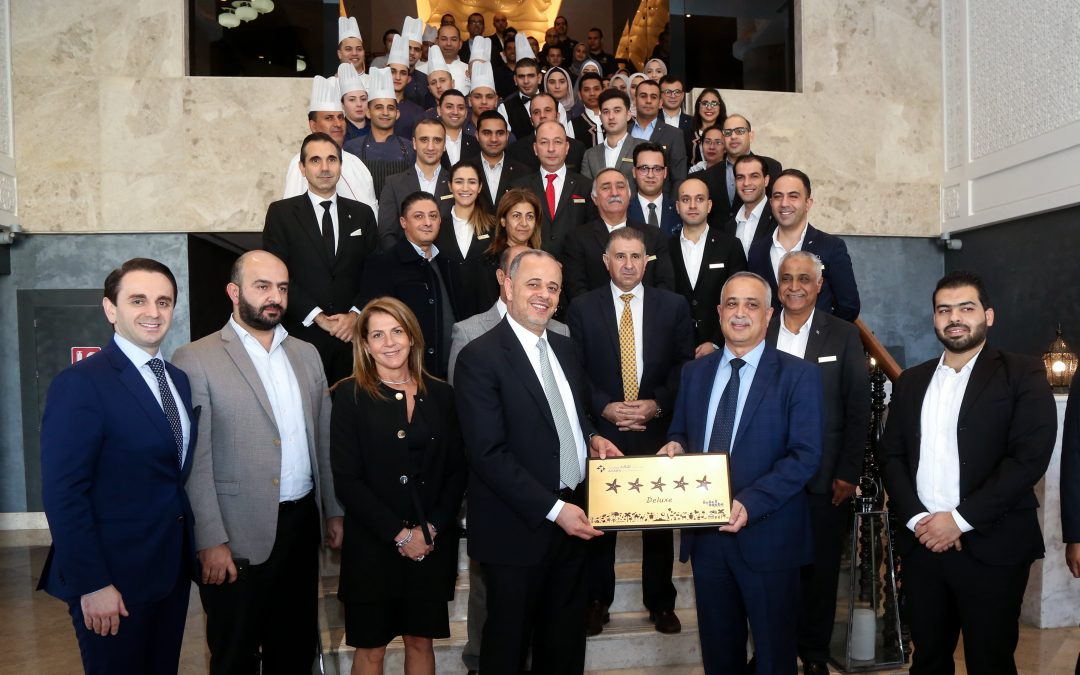 "Eagle Hills Jordan affirms its success by achieving the ""Deluxe""  for Al Manara Hotel ""The Luxury Collection"" – Saraya Aqaba"